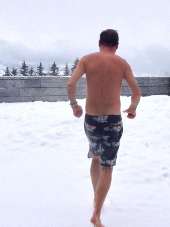 Mineralbad & Spa Rigi-Kaltbad: Cool down zone
