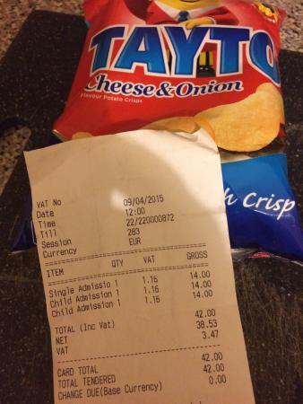 Tayto Park: Price 1adult 2kids