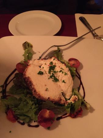 The Horseshoe: Goat cheese app Yumm