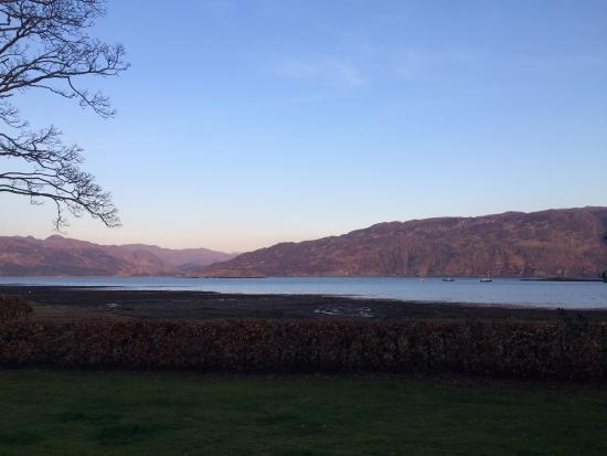 The Old Manse Lochcarron: The View from the Old Manse Guest House
