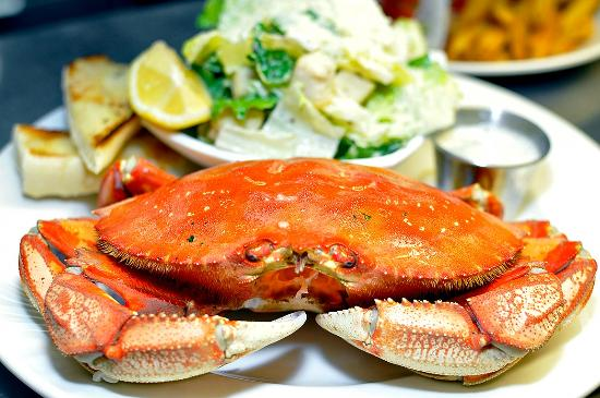House of Himwitsa : Locally Caught Dungeness Crab