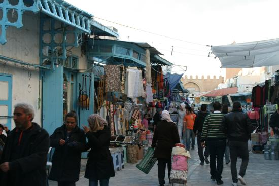 Hotel Splendid: Paseo en el centro de la medina