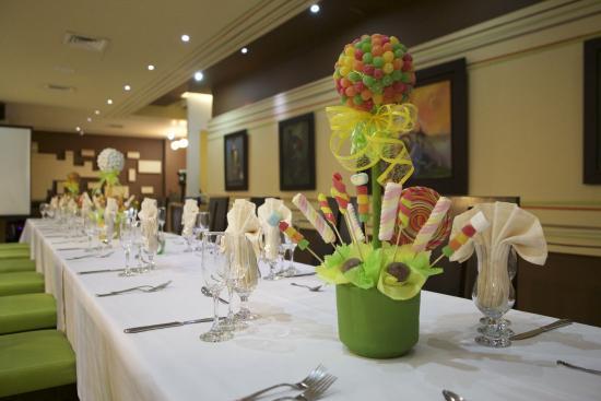 Hotel Chicamocha: Restaurante ZaborArte ZaborArte, novedoso restaurante con especialidad Cocina de Autor.