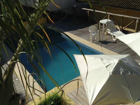 Areia Branca Apart Hotel: Piscina agradável