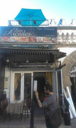 Des Arcades de Mogador : restaurant les arcades