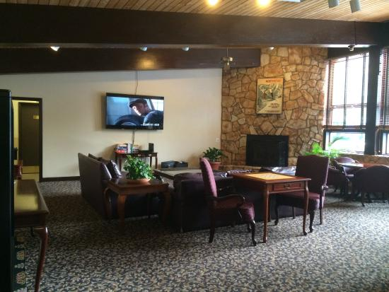 Falcon Point: Clubhouse TV room