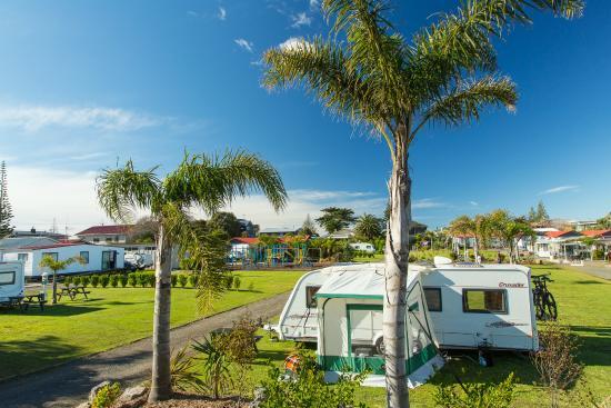 Beachaven Kiwi Holiday Park: Camp