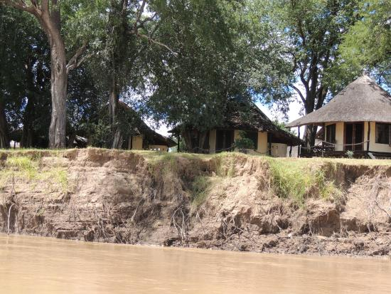 Nsefu Camp : View of Camp From the Boat