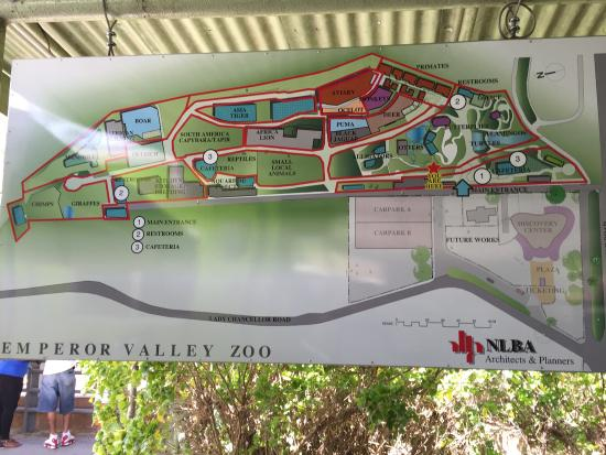 Map  Picture of Emperor Valley Zoo Port of Spain  TripAdvisor