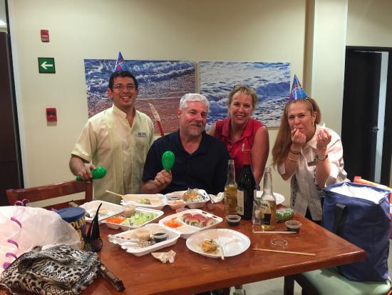 Fairfield Inn Los Cabos: Birthday Celebration for Mark
