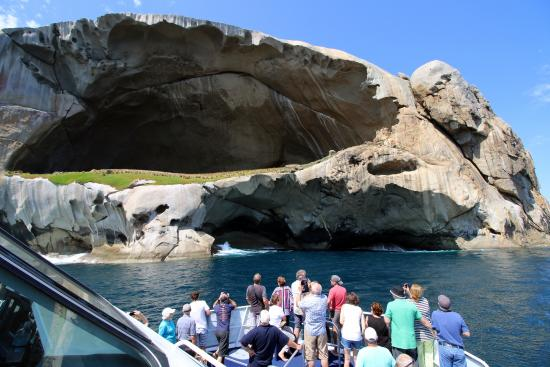 Wildlife Coast Cruises: Spectacular Skull Rock on the Wilson's Promontory Cruise