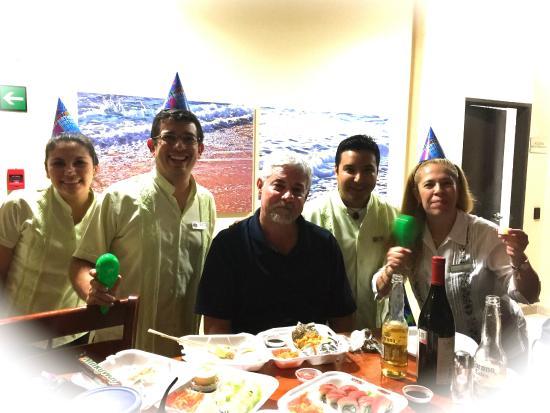 Fairfield Inn Los Cabos: Birthday Party for Mark