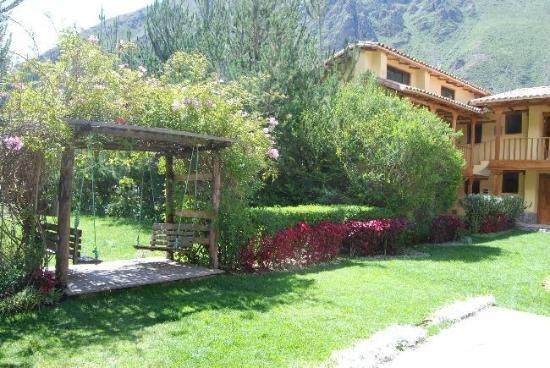 Hotel Samanapaq: zona de descanso (jardin)