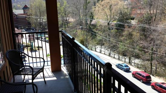 hilton garden inn gatlinburg downtown balcony view - Hilton Garden Inn Gatlinburg