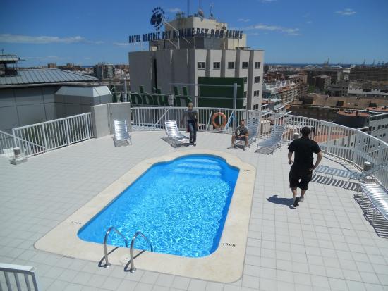 piscina all 39 aperto 11 piano fotograf a de hotel alameda