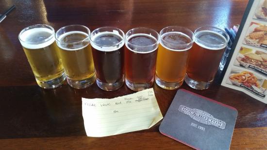 Rock Bottom Brewery: Cervezas hechas en el lugar