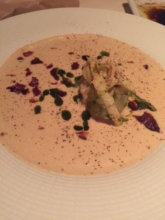 Bistro: Roasted cauliflower soup