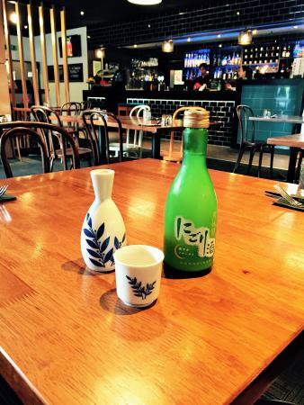 DUO Dining Room Bar Gekkeikan Sake Area