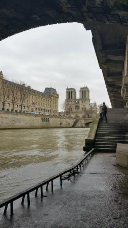 Paris, Prancis: Views of the Seine