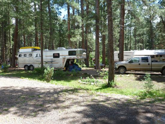 Sportsman's Campground and Mountain Cabins: Site #25