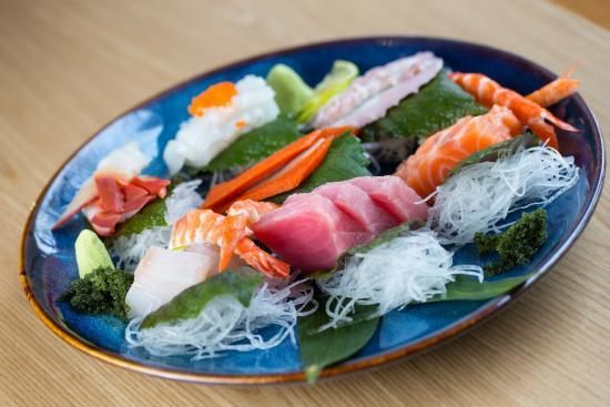 Food at Japanese Restaurant