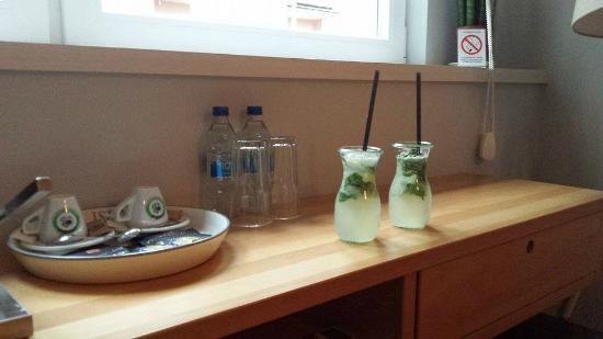 Smokvica B&B: Welcome Drink