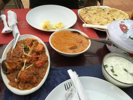 Maharajah: Lovely curry!