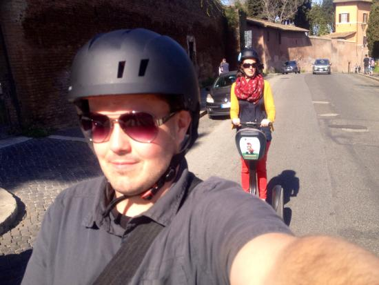 Segway Rome Tours: Segway Selfie