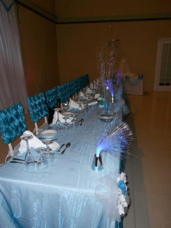 Hotel Tim Bamboo: Head Table Wedding Reception