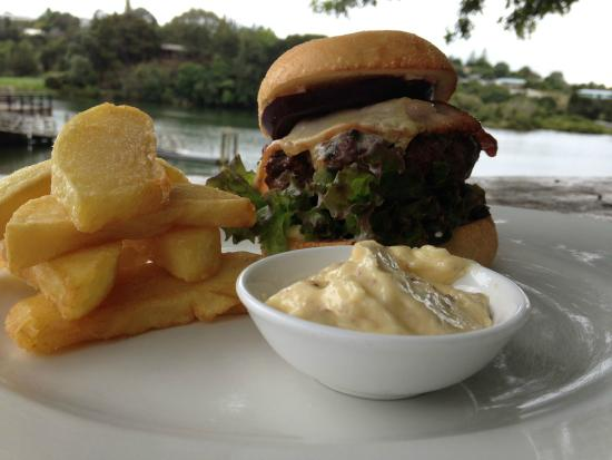 The Pear Tree: The Beef Burger