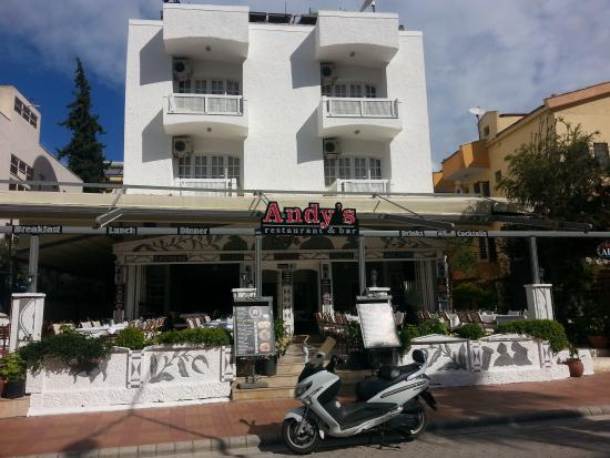 Andy's Restaurant & Bar: andys 2015