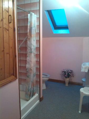 Kenmare Failte Hostel: clean and tidy shower room