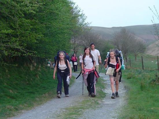 Llanddewi Brefi, UK: Leadership skills at Ty'n Cornel