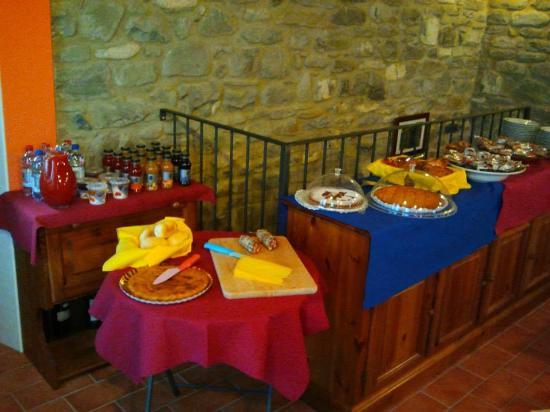Albergo Diffuso Casa Delle Favole : colazione
