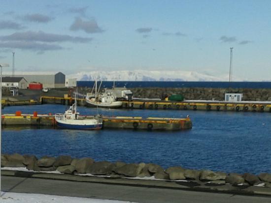 Nupan Deluxe: le petit port à coté