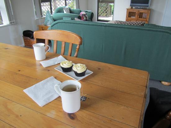 Lone Kauri Lodge: accueil