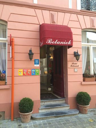 Botaniek  Hotel: entrance