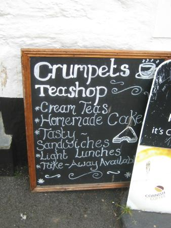 Crumpets Cafe: Tasty