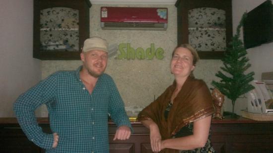Shade Tourist Home : England guest !
