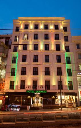 Sorriso hotel 48 6 5 prices reviews istanbul for Cheap hotel in laleli istanbul