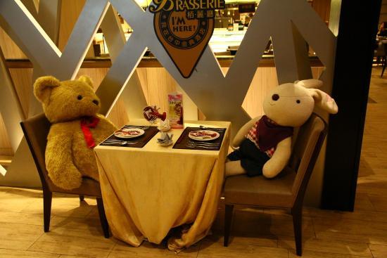 The Splendor Hotel Taichung: 飯店一角