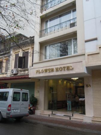 Flower Hotel : Парадный вход