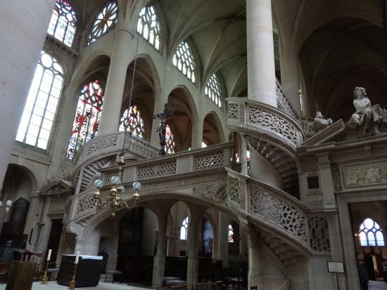 Paris, Prancis: La Chiesa di Saint-Étienne-du-Mont