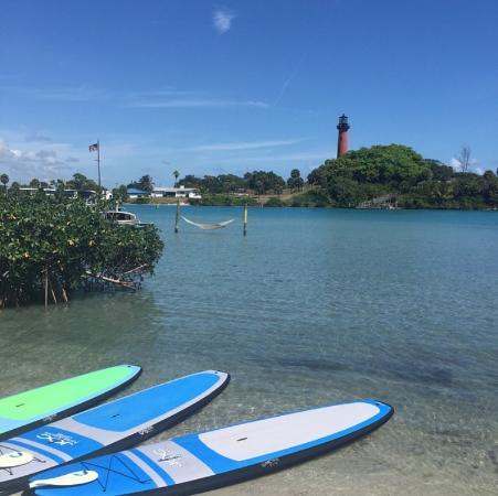 Jupiter, FL: Beautiful day to paddle board