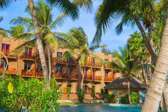 Savana Jardin-Hotel Dakar : chambres avec balcon