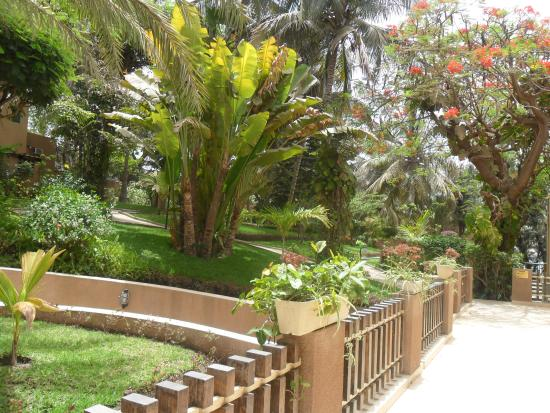Savana Jardin-Hotel Dakar : jardin