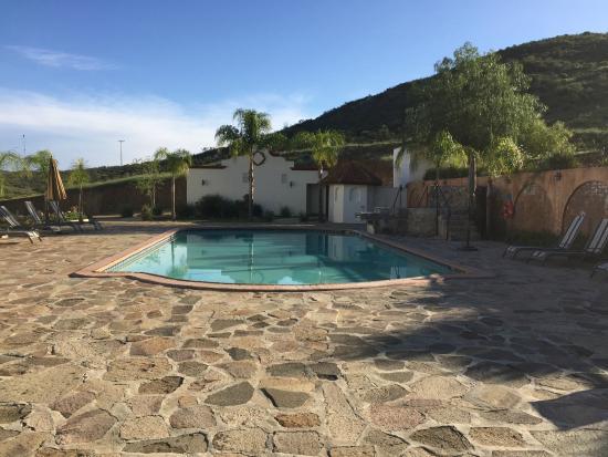 Hacienda Guadalupe Hotel: Pool & Hot Tub Area