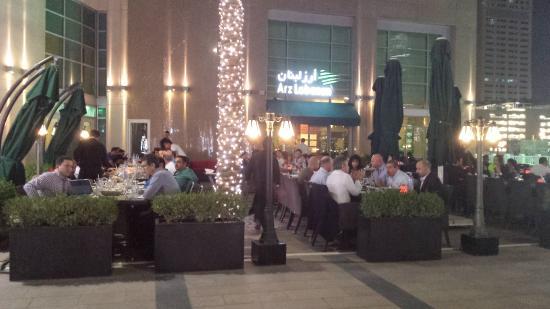 Arz lebanon picture of arz lebanon restaurant dubai for Arz lebanese cuisine