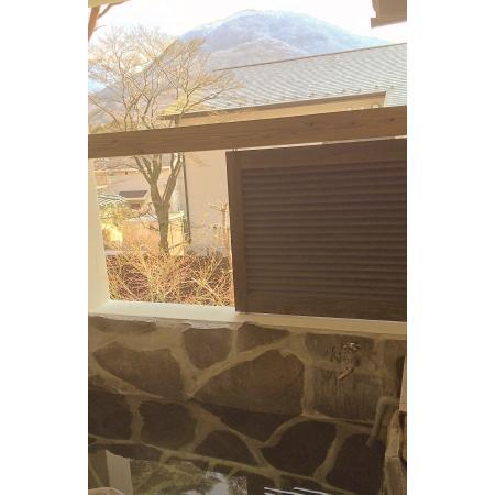 Sengokuhara Shinanoki Ichinoyu: View from rooms private onsen