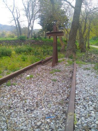 Antica Stazione di Ficuzza : binario morto